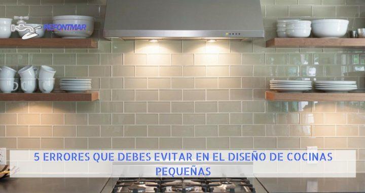 Diseño de cocinas pequeñas Reformas en Valencia ✓️